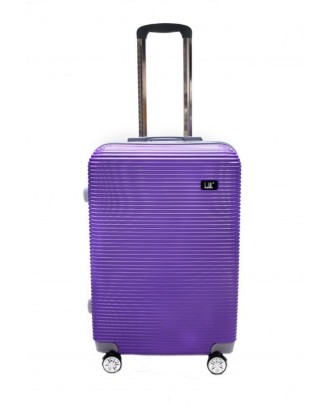 Didelis kelioninis lagaminas ant ratų, lengvas